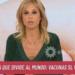 La militante de Cambiemos Mariana Fabbiani pone en duda la importancia de las vacunas