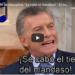 Video: El discurso de Macri en ritmo de cuartetazo