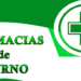 Farmacias de Turno: Sábado 22 de febrero 2020